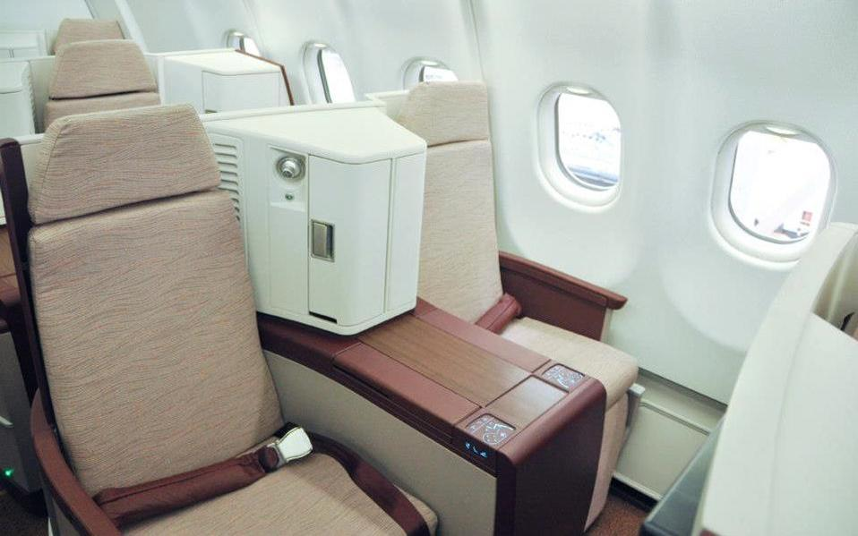 Jet Airways Business Class Photo