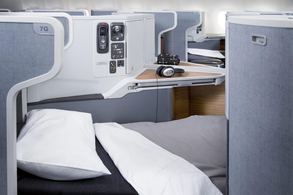 American Airlines Business Class Photo