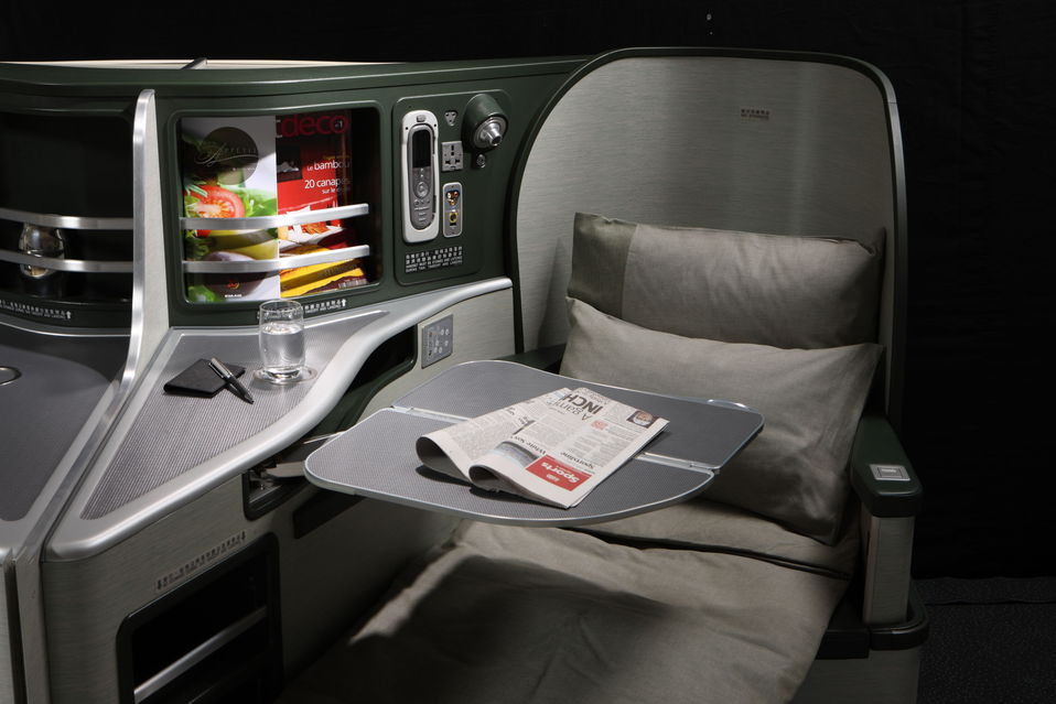 EVA Air Business Class Photo