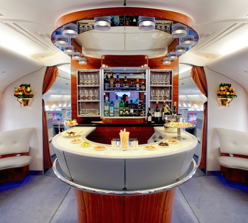 Emirates Business Class Photo