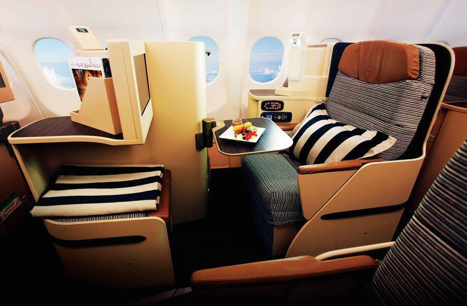 Etihad Airways Business Class Photo