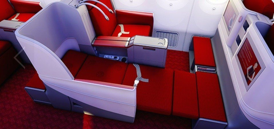 Hainan Airlines Business Class Photo
