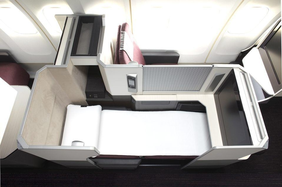 Japan Airlines JAL Business Class Photo