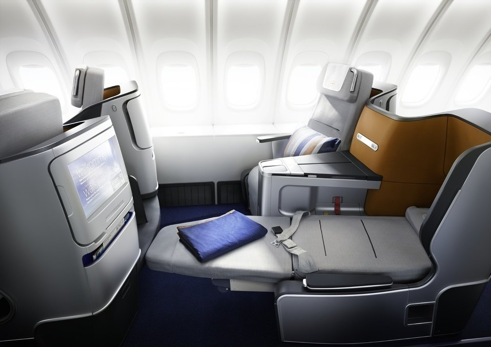 Lufthansa Business Class Photo