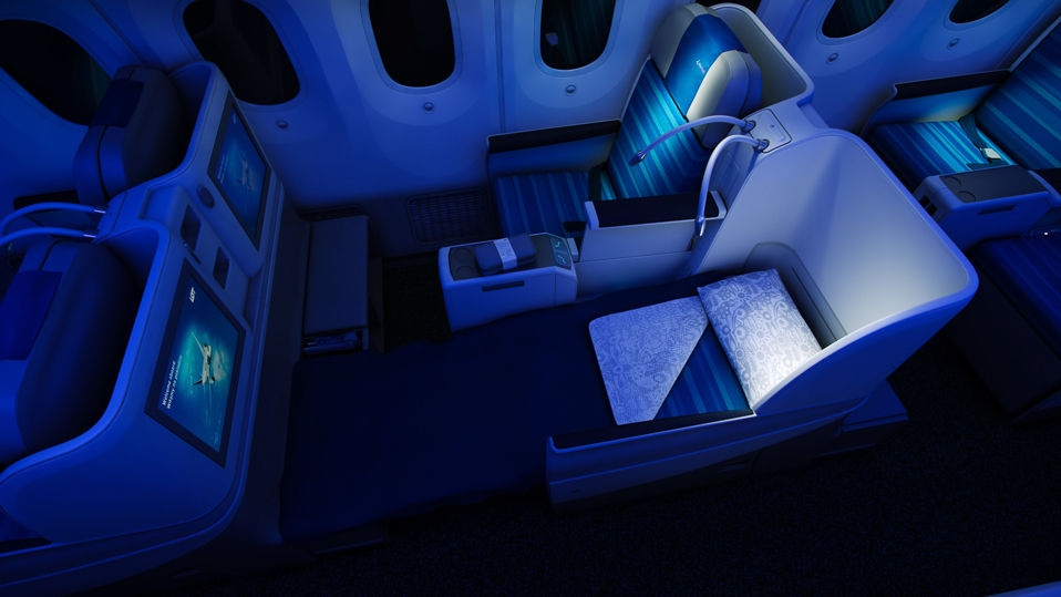 LOT Polish Airlines Business Class Photo