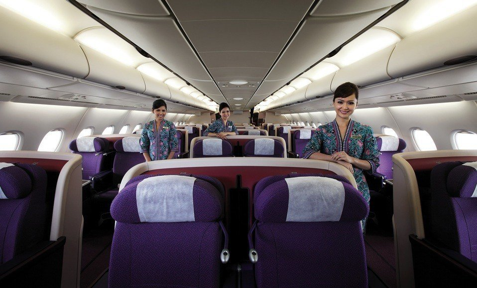 Malaysian Airlines Business Class Photo