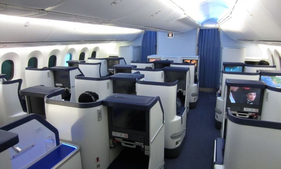 All Nippon Airways Business Class Photo
