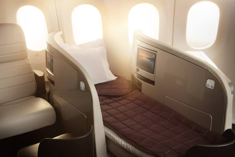 Air New Zealand Business Class Photo