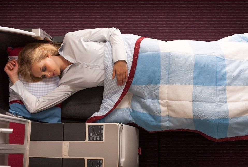 Austrian Airlines Business Class Photo