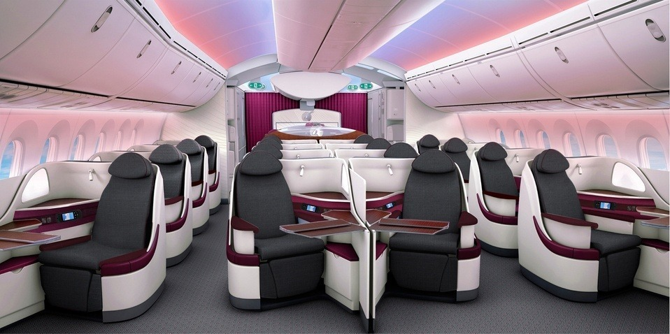 Qatar Airways Business Class Photo