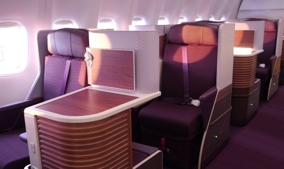 Thai Airways Business Class Photo