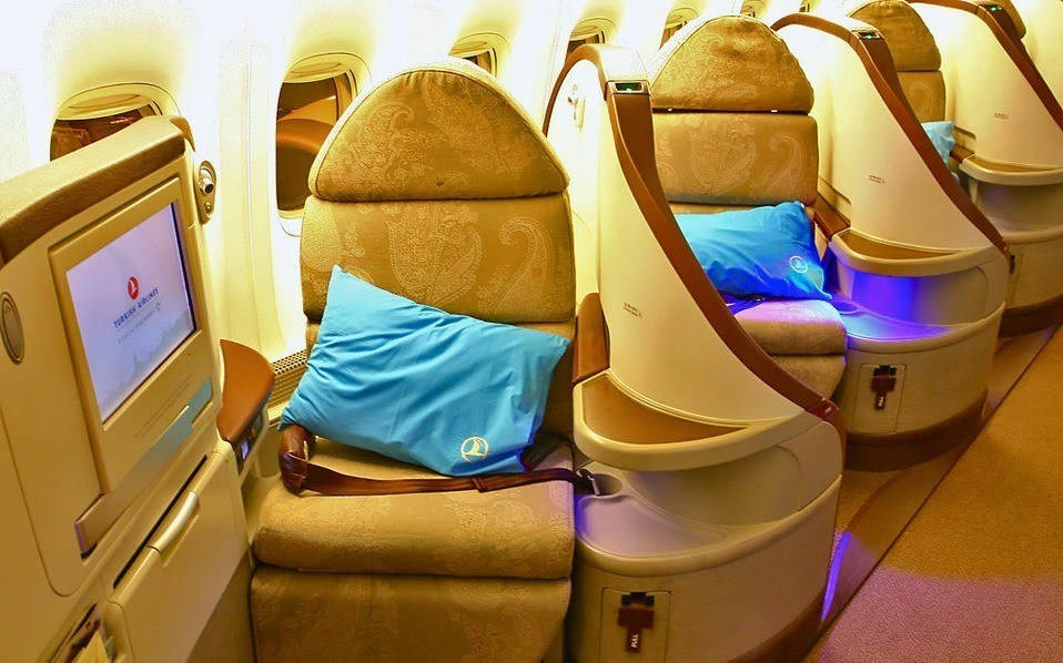 Turkish Airlines Business Class Photo