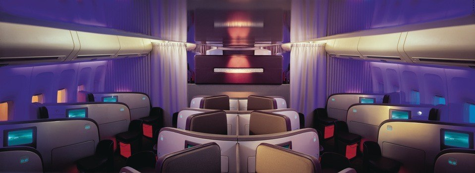 Virgin Atlantic Business Class Photo