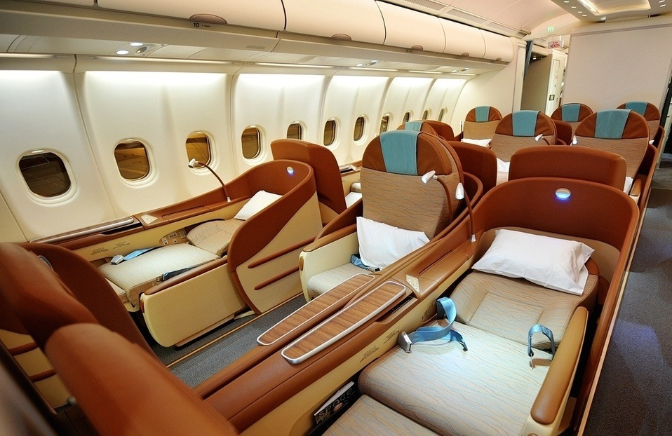 Oman Air Business Class Photo
