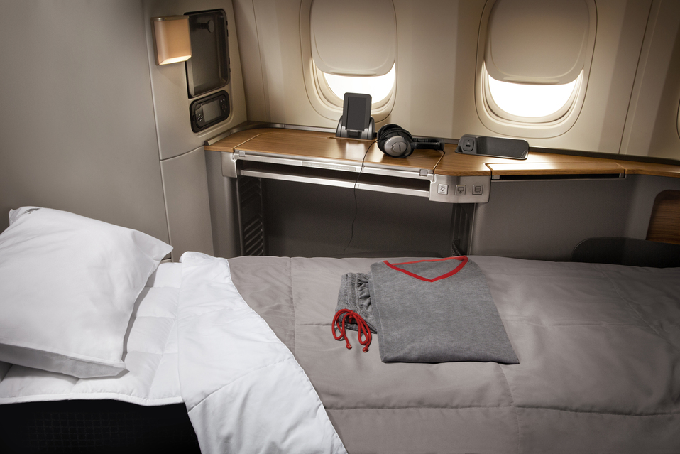American Airlines First Class Photo