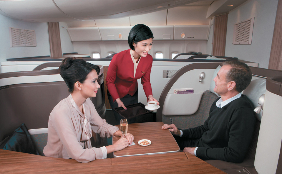 Cathay Pacific  First Class Photo