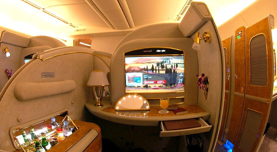 Emirates  First Class Photo