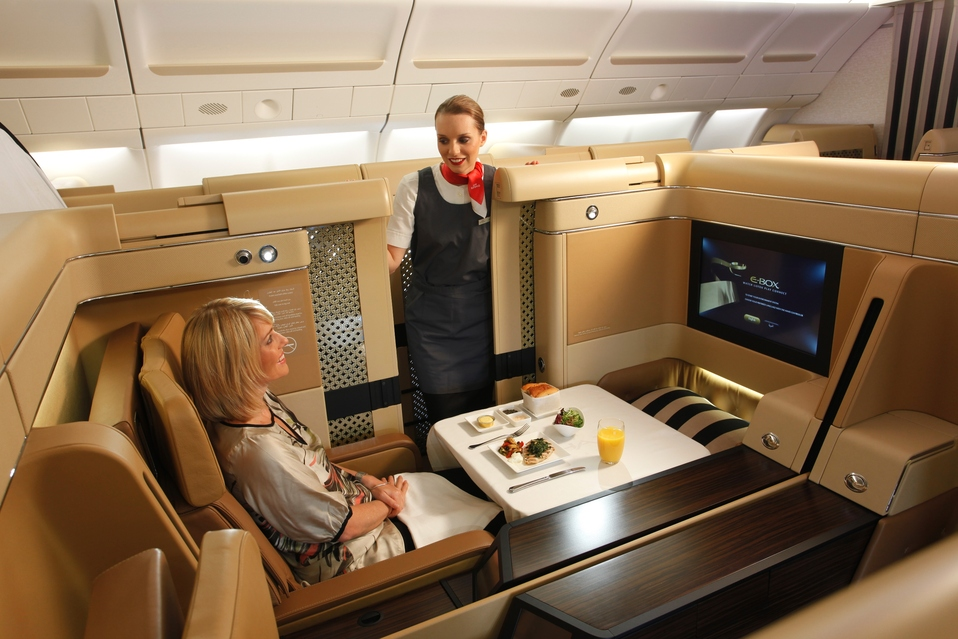 Etihad First Class Photo