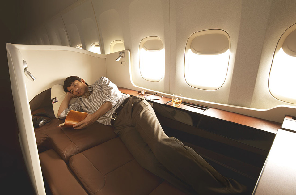 Japan Airways First Class Photo