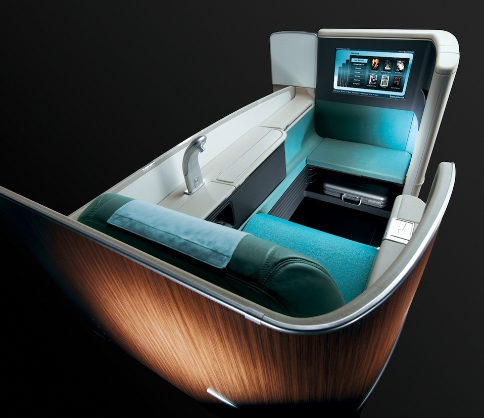 Korean Air First Class Photo