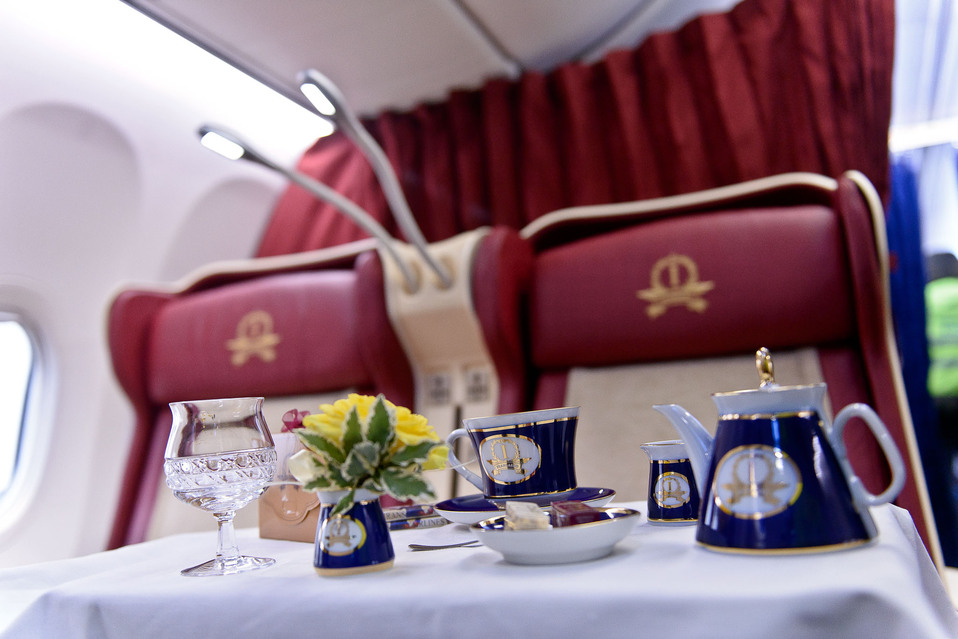 Transaero Airlines First Class Photo