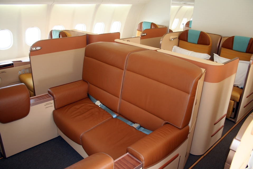 Oman Air First Class Photo