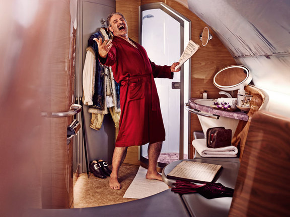 First Class Bathroom on Emirates' A380