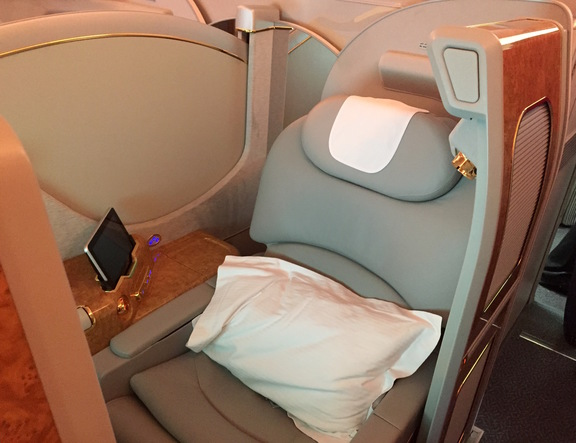 Emirates First Class Suite Seat