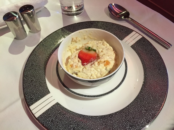 Singapore Airlines Brunch Bircher Muesli