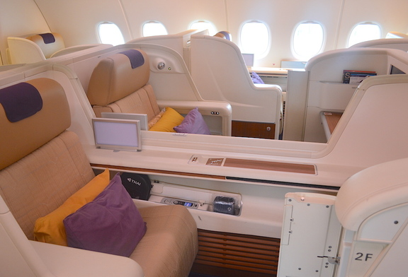 Thai Airways A380 First Class Cabin
