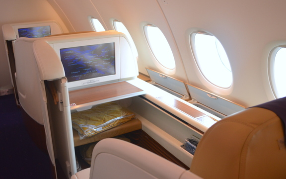 Thai Airways A380 First Class Seat 2K