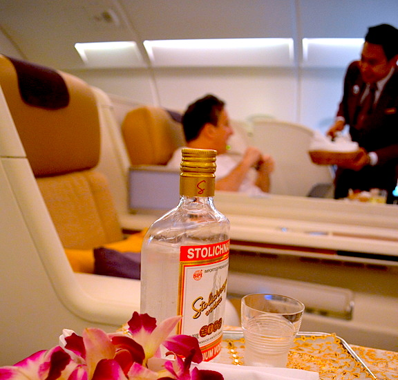 Thai Airways Stoli Vodka